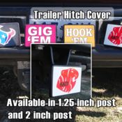 Receiver Hitch Cover (2