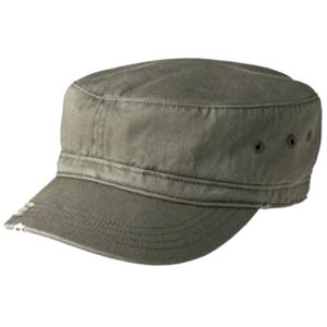 Distressed Military Cap Thumbnail